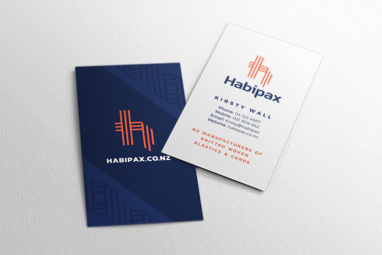 Clockwise Design Business stationery design Habipax NZ