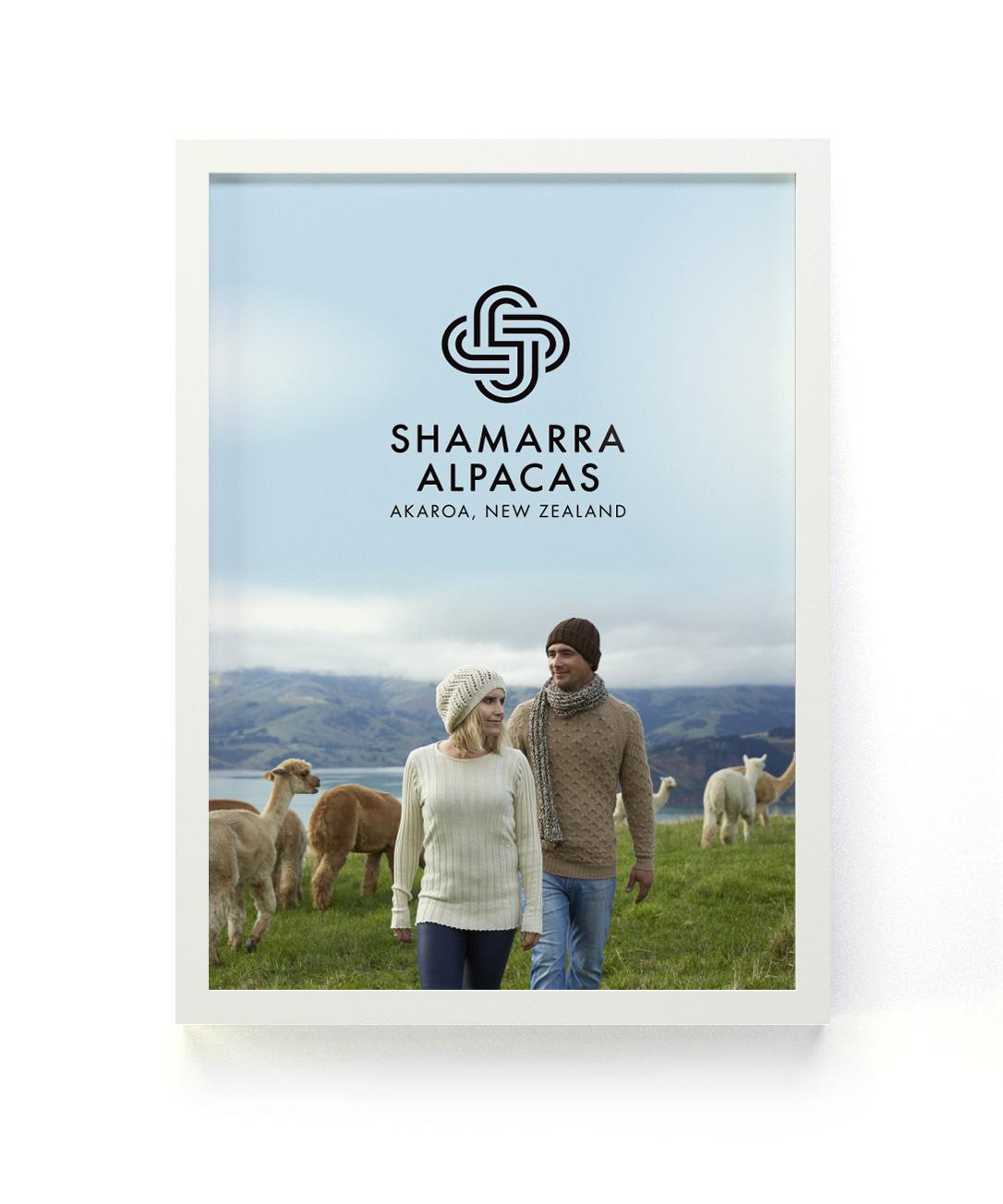 Shamarra Alpacas store Poster Design